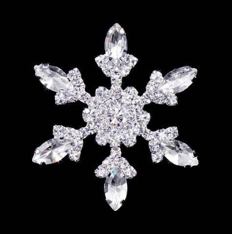 Pins - Christmas #11846 - Snowflake Pin