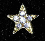Pins - Dance/Music #13473 Rhinestone Casted Mini Star Pin