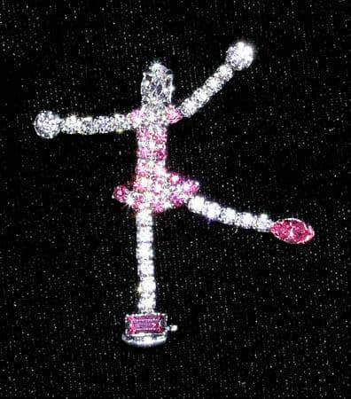 Pins - Dance/Music #13716 Ice Skater Pin
