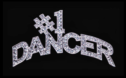 Pins - Dance/Music #16350 #1 Dancer Pin (Curved)