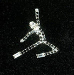 Pins - Dance/Music Dancer Jumping Pin #11088