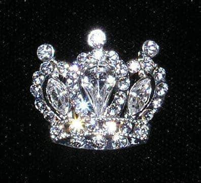 Pins - Pageant & Crown #14664 - Small Royal Cluster Pin