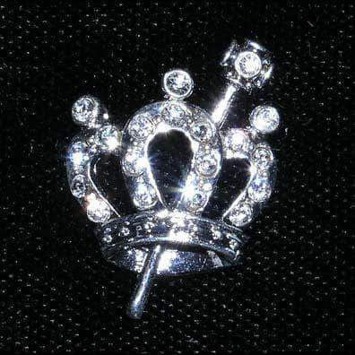 Pins - Pageant & Crown #14666 - Queen of the Ball