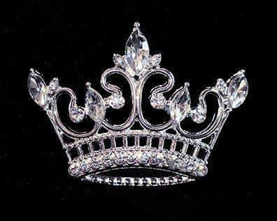 Pins - Pageant & Crown #16125 - Kings Point Crown Pin
