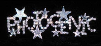 Pins - Pageant & Crown #16137 - Photogenic Stars Pin