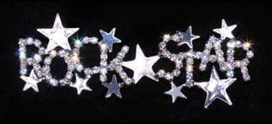 Pins - Pageant & Crown #16138 - Rock Star Pin