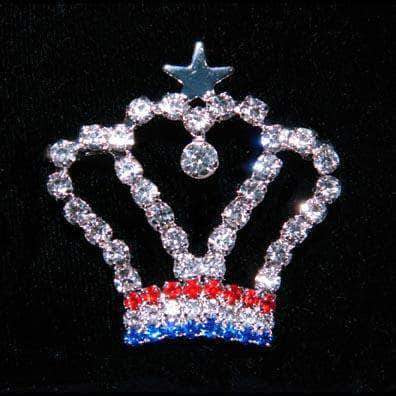 Pins - Pageant & Crown #16171 USA Crown Pin