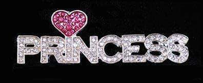Pins - Pageant & Crown #16267 - Princess Love Pin