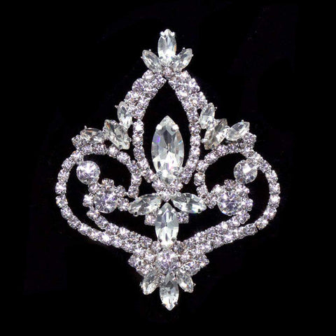Pins - Pageant & Crown #16581 - Pageant Prime Crown Pin