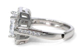 Rings Weiss Radiant Cut CZ Engagement Ring and Cocktail Ring - ADJUSTABLE sizes 6 thru 11