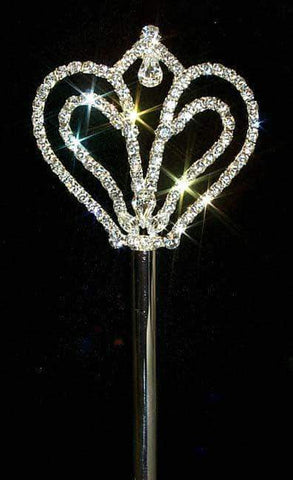 Scepters #12622 Symmetrical Heart Scepter