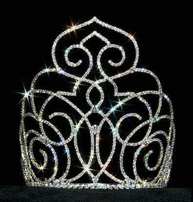 "Tiaras & Crowns over 6"" #12553 Middle Eastern Princess Crown - Medium"