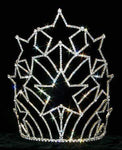"Tiaras & Crowns over 6"" #12564 Starburst Tiara - Medium"