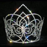 "Tiaras & Crowns over 6"" #13545 Netherland Queen Bucket Crown"