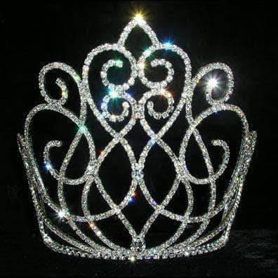 "Tiaras & Crowns over 6"" #13576 - Musical Symphony Tiara - Medium"