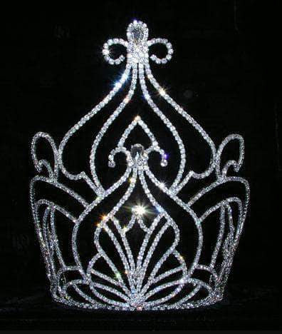 "Tiaras & Crowns over 6"" #15178 - Moroccan Court 9"" Crown"