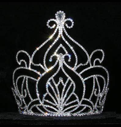 "Tiaras & Crowns over 6"" #15179 - Moroccan Court Tiara - 7.25"""