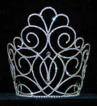 "Tiaras & Crowns over 6"" #15199 - Titan Queen's Crown - 9"""