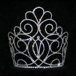 "Tiaras & Crowns over 6"" #15200 - Titan Queen's Tiara - 7"""