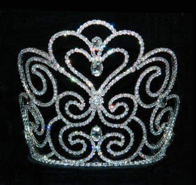 "Tiaras & Crowns over 6"" #16095 - Sky Princess Tiara - 7"""