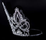 "Tiaras & Crowns over 6"" #16452 - Pageant Prime Adjustable Crown - 7.5"""