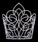 "Tiaras & Crowns over 6"" #16655 - Butterfly Gate Adjustable Crown - 9"" Tall"