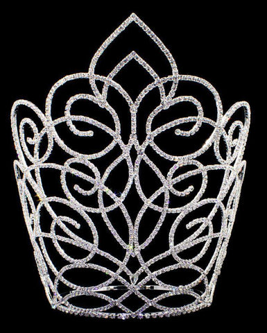 "Tiaras & Crowns over 6"" #16656 - Butterfly Gate Adjustable Crown - 11"""
