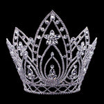 "Tiaras & Crowns over 6"" #16660 Pear Blossom Adjustable Crown - 10"""