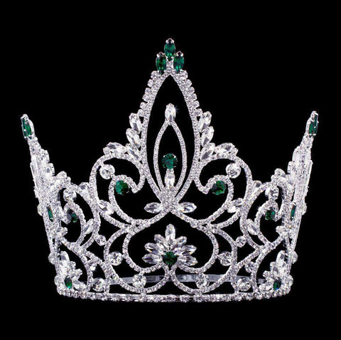 "Tiaras & Crowns over 6"" #16883 - Forestry Pageant Prime Adjustable Crown - 7.5"""