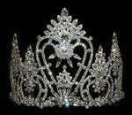 "Tiaras & Crowns up to 6"" #12540 Royal Heart Flair Tiara"