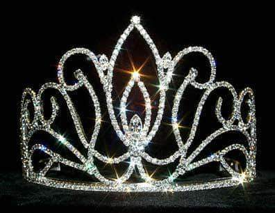 "Tiaras & Crowns up to 6"" #12546 Exquisite Tulip Tiara"