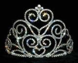 "Tiaras & Crowns up to 6"" #12551 Victorian Heart Tiara - Small"