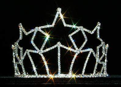 "Tiaras & Crowns up to 6"" #12562 Starburst Tiara - Small"