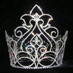"Tiaras & Crowns up to 6"" #13546 Enchanted Queen Bucket Crown"