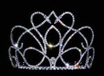 "Tiaras & Crowns up to 6"" #13655 - Kissing Swan Tiara"