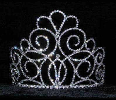 "Tiaras & Crowns up to 6"" #15201 - Titan's Queen Tiara - 5"""