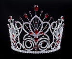 "Tiaras & Crowns up to 6"" #16109 - Maus Spray Crown - Siam- 6"""