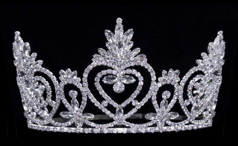 "Tiaras & Crowns up to 6"" #16488 Pageant Praise - 4.5"" Adjustable Crown"