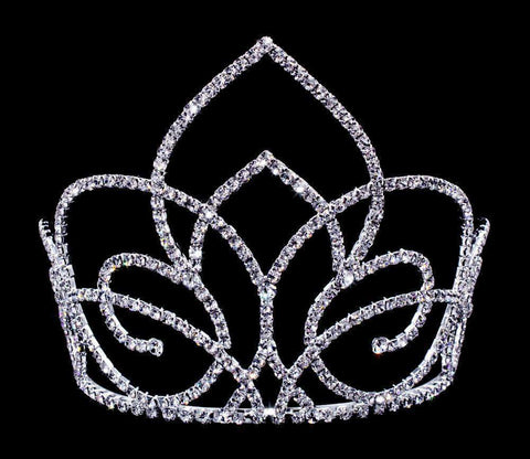 "Tiaras & Crowns up to 6"" #16653 Butterfly Gate Tiara with Combs - 5"""