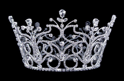 "Tiaras & Crowns up to 6"" #16794 Iron Gate Bucket Crown"