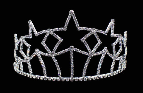 "Tiaras & Crowns up to 6"" #17174 Starburst Tiara - 3.5"" (Limited Quantity)"
