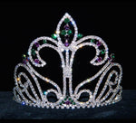 "Tiaras & Crowns up to 6"" #17177 Large Fleur Di Lis Tiara (Limited Quantity)"