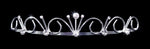 "Tiaras up to 1"" #14691 - Poseidon Princess Tiara"