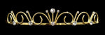 "Tiaras up to 1"" #14691G - Poseidon Princess Tiara - Gold Plated"