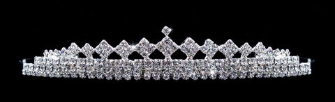 "Tiaras up to 1"" #15064 - Diamond Topper Tiara"