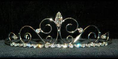 "Tiaras up to 1"" #16181 - Wire Kelpie Princess Tiara with rings"