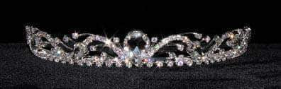"Tiaras up to 1"" #16190 - Shooting Waves Tiara"