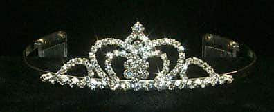 "Tiaras up to 1.25 "" #12034 Crown Center Tiara"