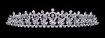 "Tiaras up to 1.25 "" #15124 - Crystal Bud Tiara"