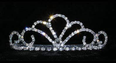 "Tiaras up to 1.25 "" #15203 Titan's Queen Tiara - 1.25"""